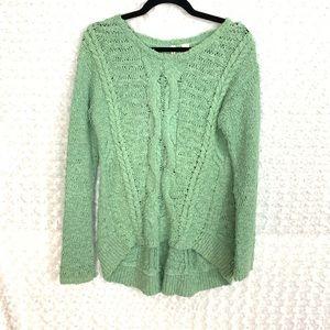 Anthropologie Moth Cotton Blend Knit Sweater - 200